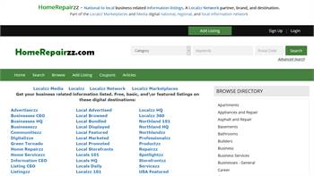 HomeRepairzz.com - National to local business related information listings.
