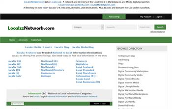 LocalzzNetwork.com (also Localzz.us) - A network and directory of the Localzz